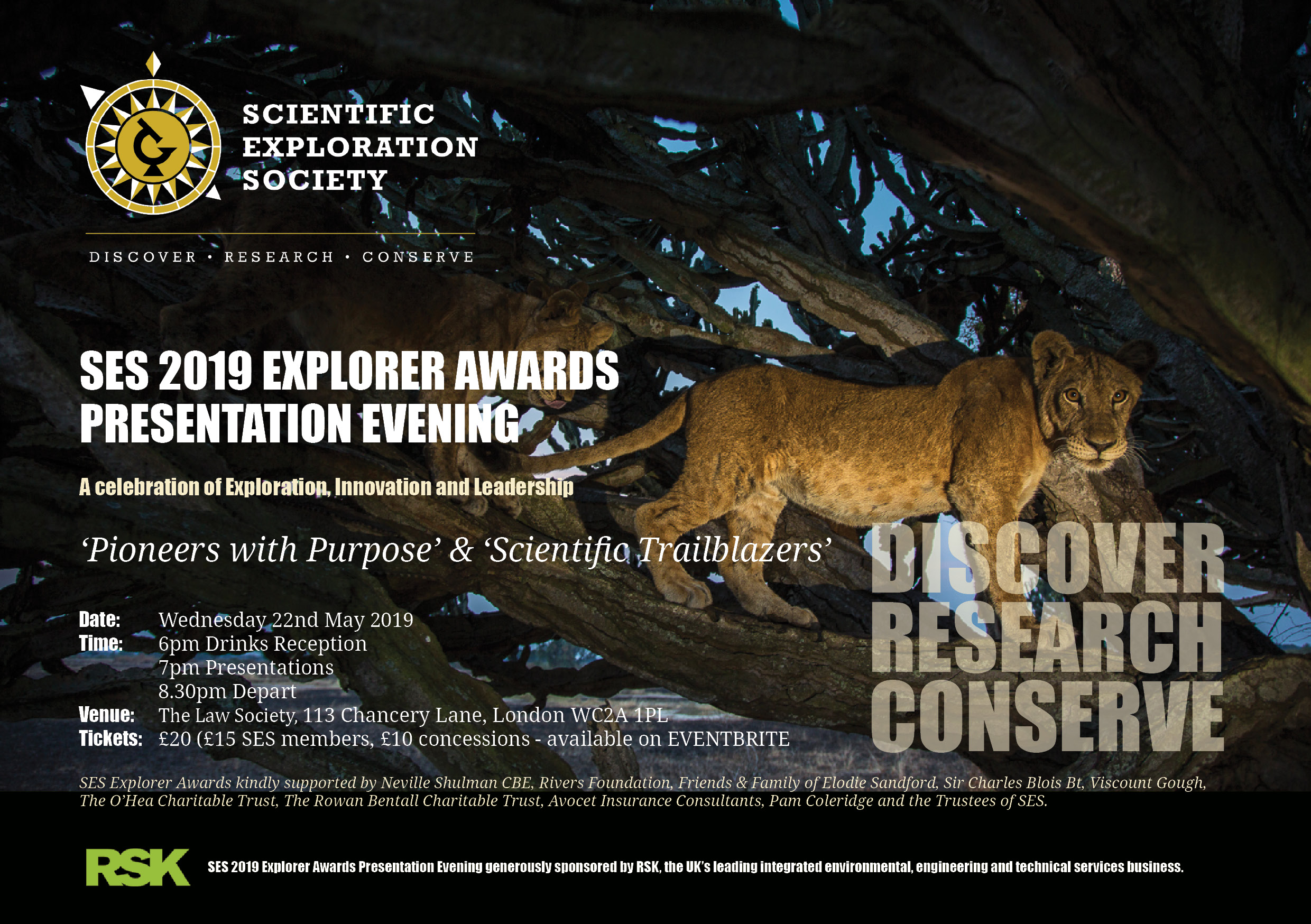 SES Explorer Awards Invitation NEW